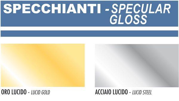 Σπρέι Saratoga Happy Color Effect Kαθρέπτης Ασημί Χρυσό 400ml